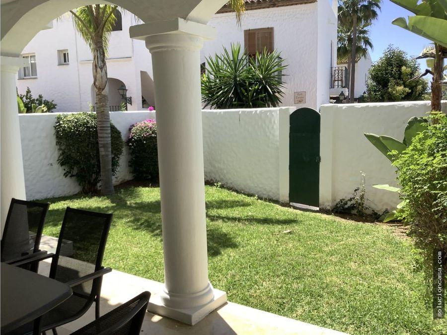 apartamento dos dormitorios jardin propio