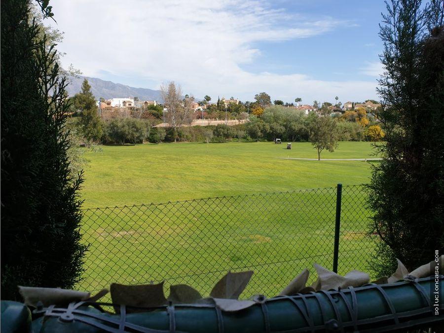 guadalmina baja jardin directo a golf