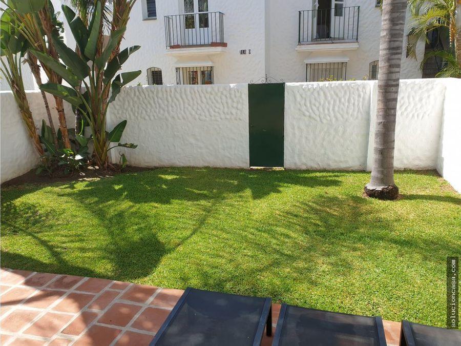 bajo con jardin propio y terraza