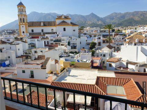centro marbella tres dormitorios vistas casco antiguo y la concha