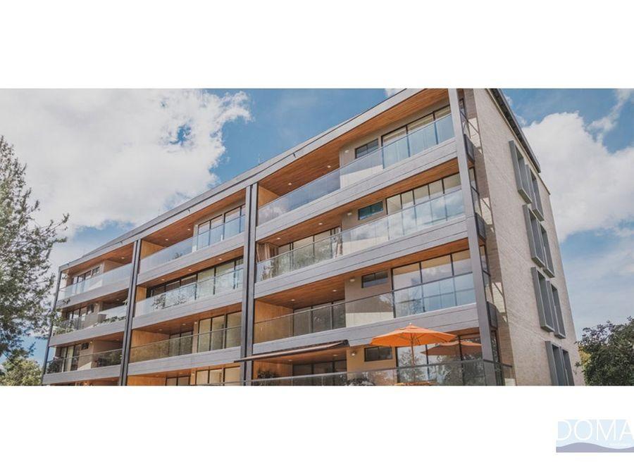 venta de apartamento en llanogrande rionegro tipo suite campestre