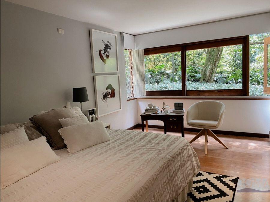 venta apartamento en las lomas en medellin el poblado muy verde