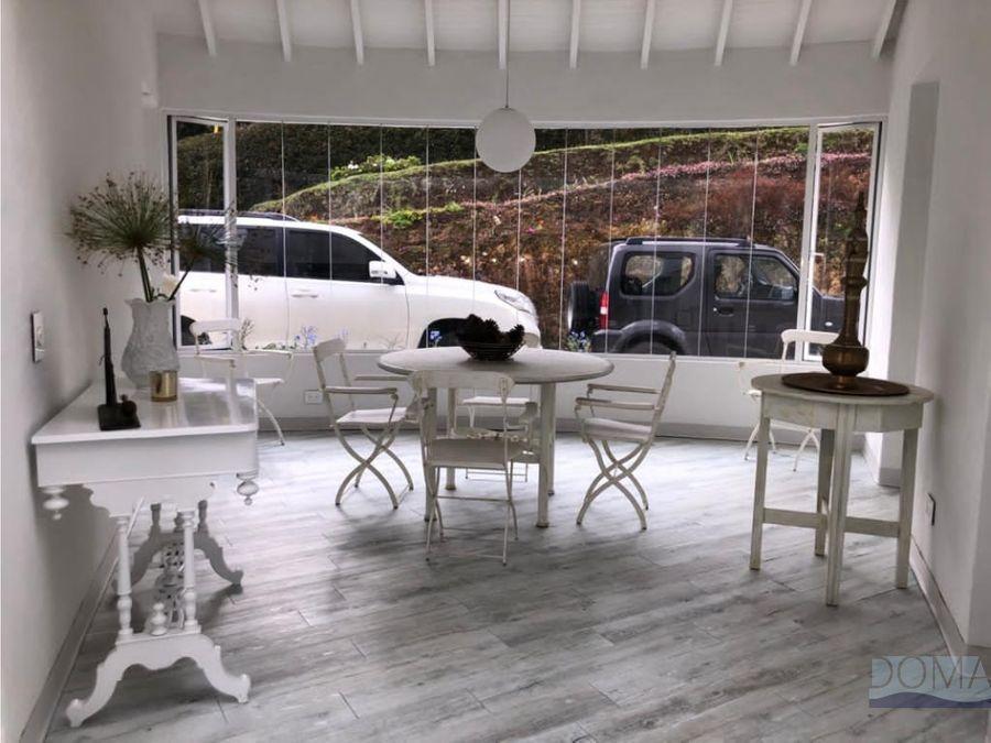 venta casa campestre en el tablazo especial diseno arquitectonico