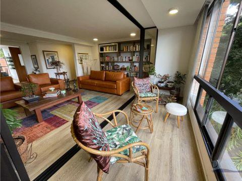 venta apartamento en los balsos el poblado zona tranquila