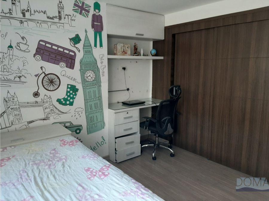 venta apartamento moderno y remodelado en san lucas el poblado