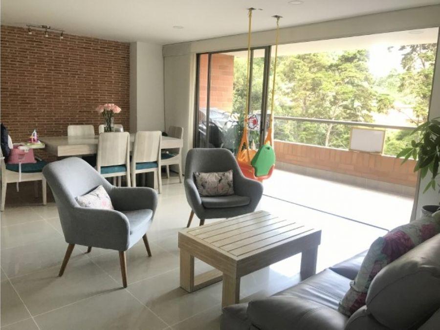 apartamento para la venta en el poblado la calera