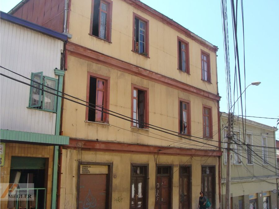 edificio en valparaiso