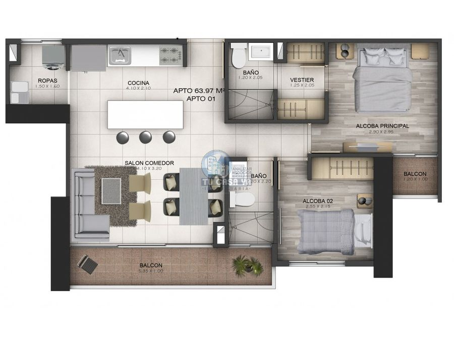 nido proyecto de apartamentos en sabaneta