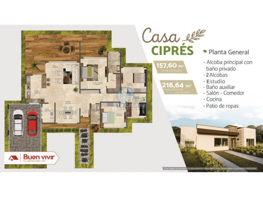condominio campestre las brisas casa cipres