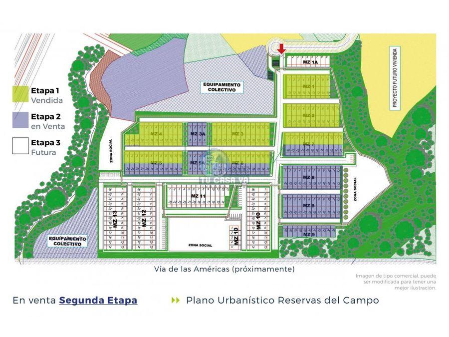 reservas del campo casas duplex en conjunto cerrado
