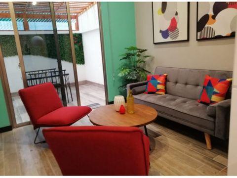 alquilo apartamento tipo loft en zona 16