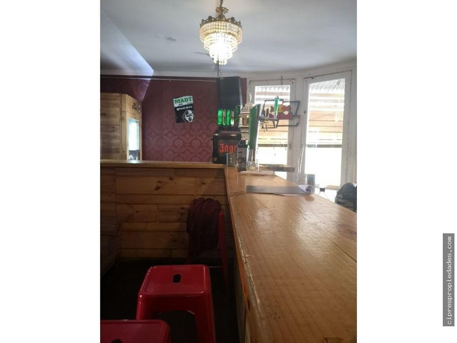 venta derecho a llave bar restoran vina del mar
