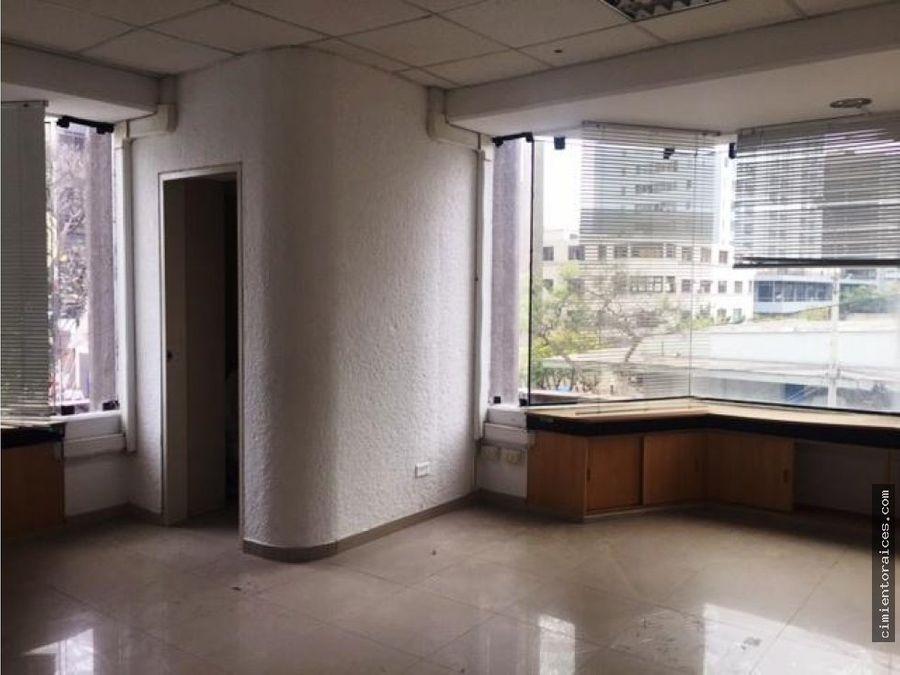 oficina en alquiler en miraflores calle tarata