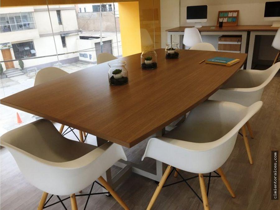 venta de oficina de 48 m2 magdalena del mar