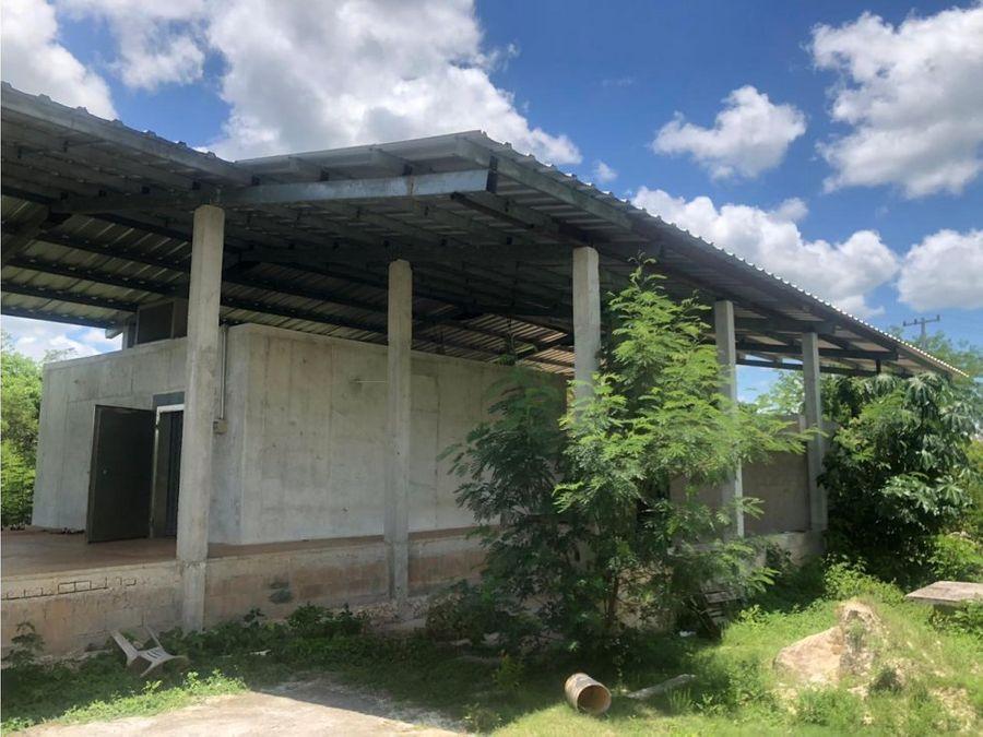 casa de campo en venta en temozon