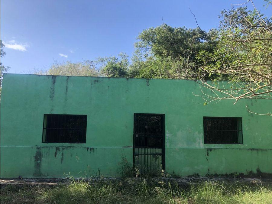 gran rancho en venta en temozon