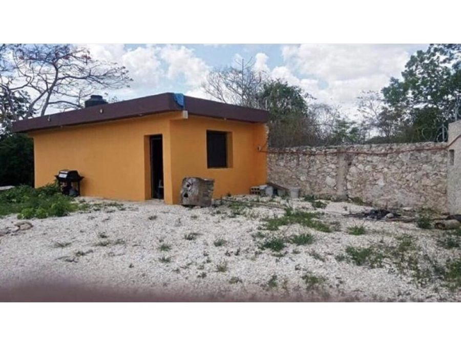 casa en venta en tixcacalcupul