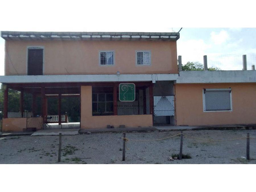 propiedad en venta sobre carretera yaxcaba piste