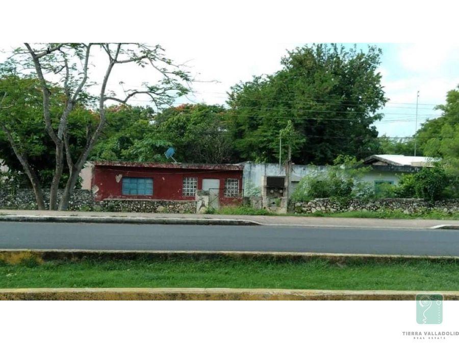 casa con gran terreno en venta en la colonia militar