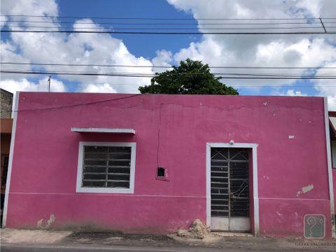 casa en venta en bacalar calle principal