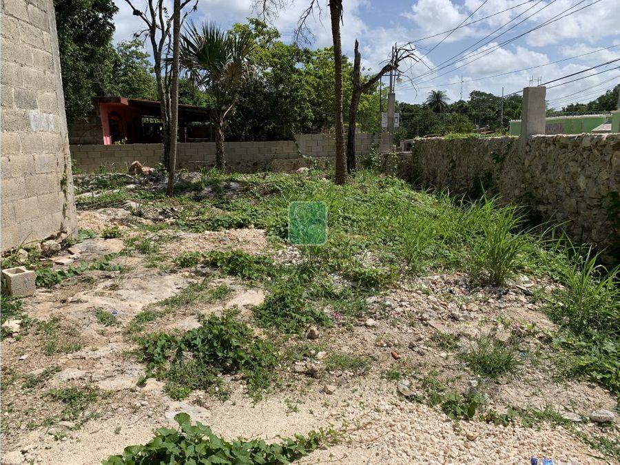 terreno en venta en el barrio de sisal