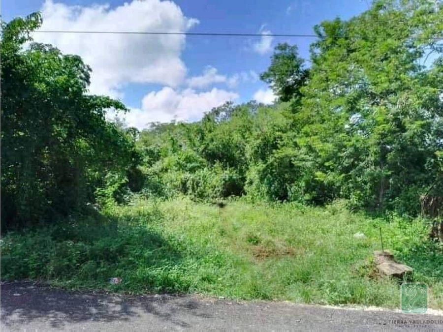 terreno en venta en tesoco yucatan