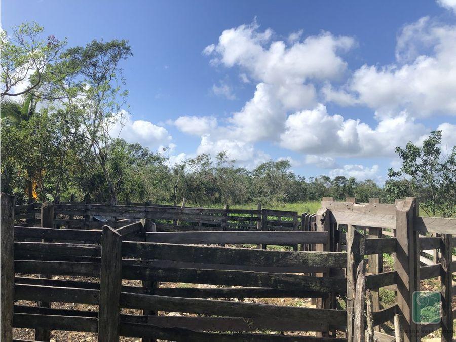 rancho en venta al norte de la ciudad