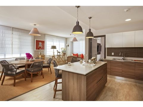 se vende espectacular apartamento amoblado en river valley