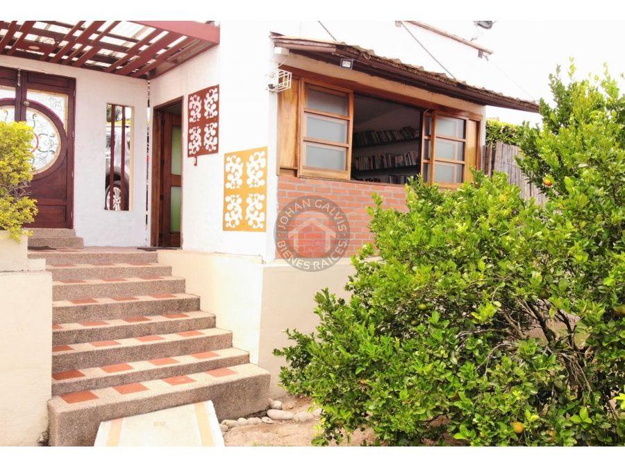 venta casa campestre en armenia