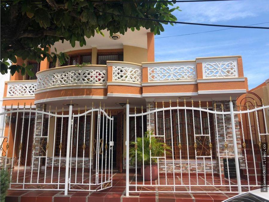 vendo casa en barrio chipre de cartagena