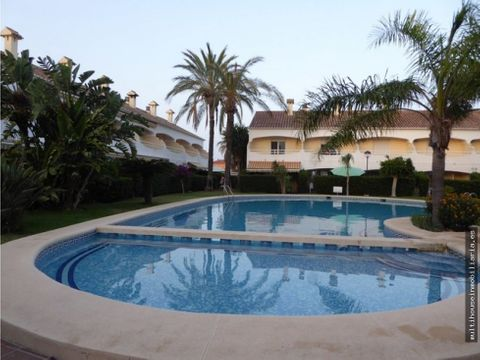 bungalow en playa denia