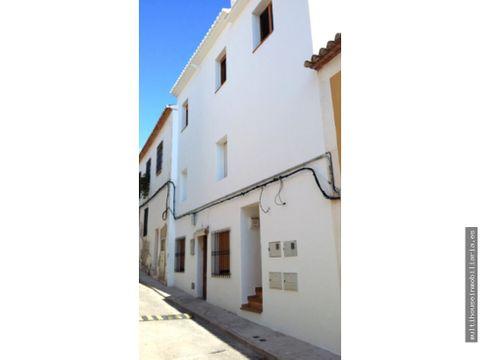 casa en el casco historico de denia 1o planta