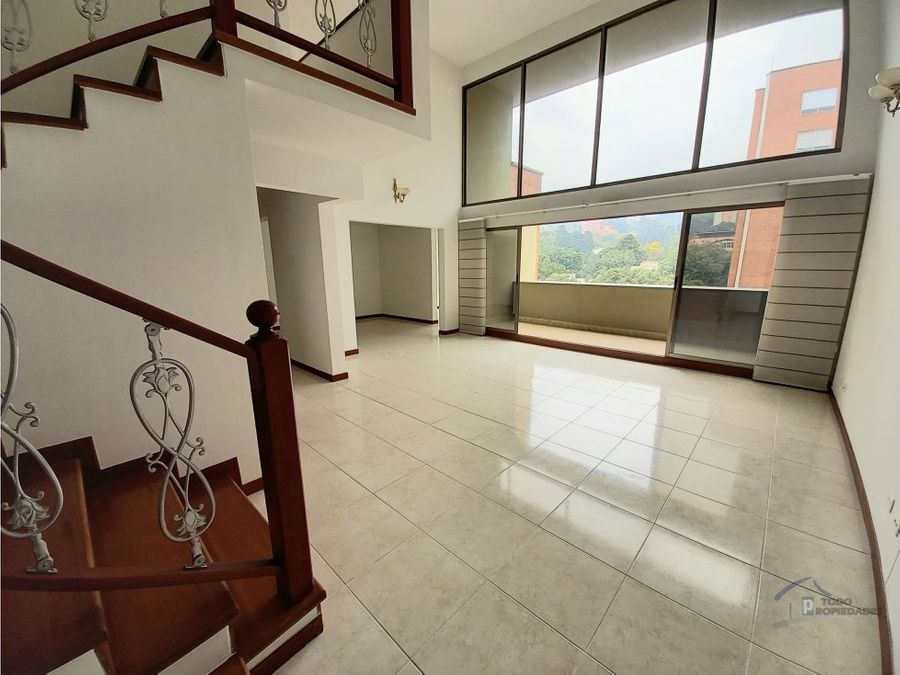 apartamento estilo pent house en venta envigado la abadia