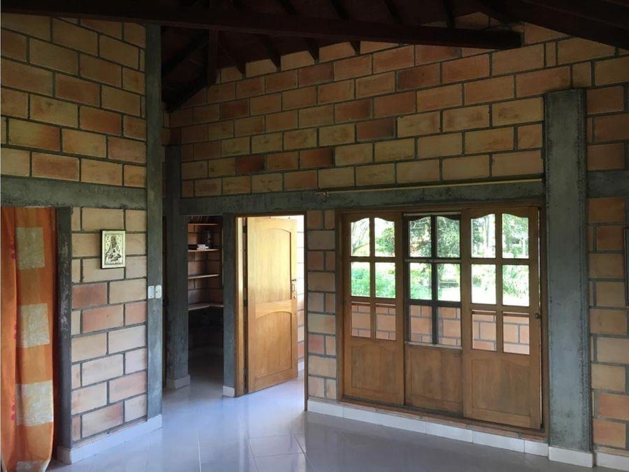 casa campestre para la venta km 7 via apartado carepa