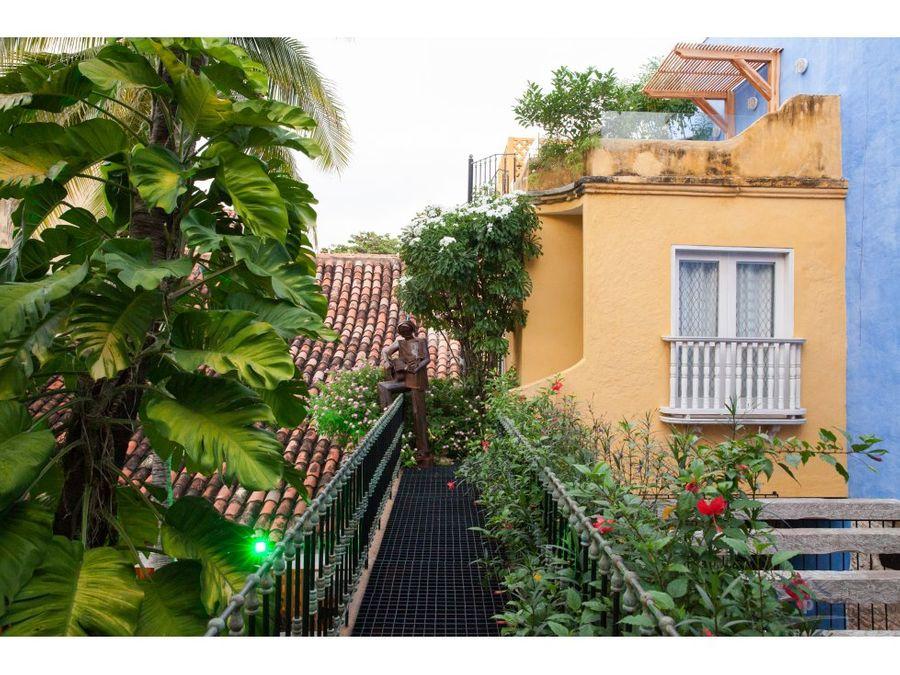 casa en venta centro historico de cartagena