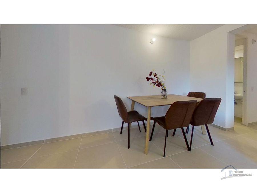 apartamento en venta en bello sector santa ana