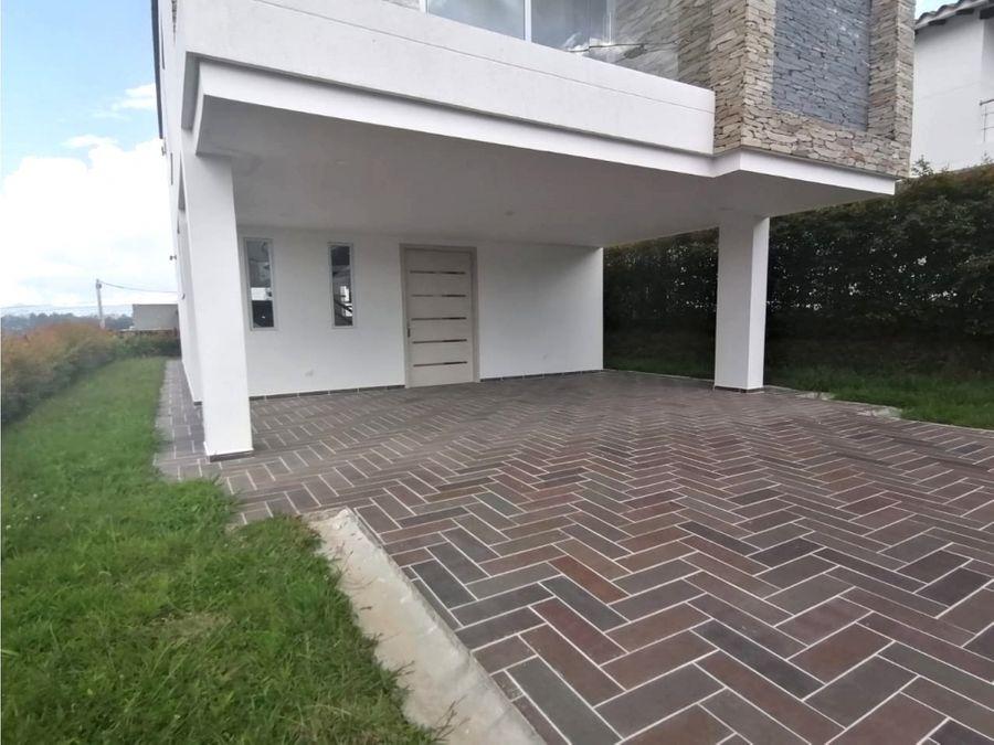 casa en venta en rionegro