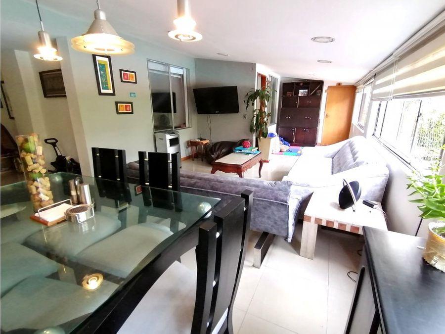 apartamento en venta zuniga parte baja 180mts