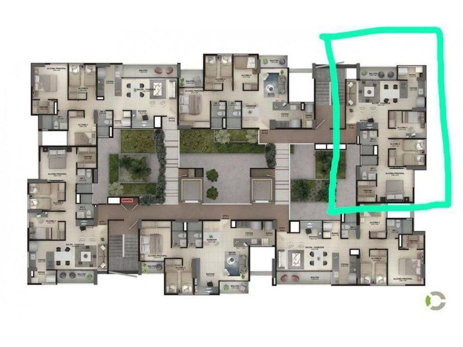 apartamento campestre en venta rionegro antioquia
