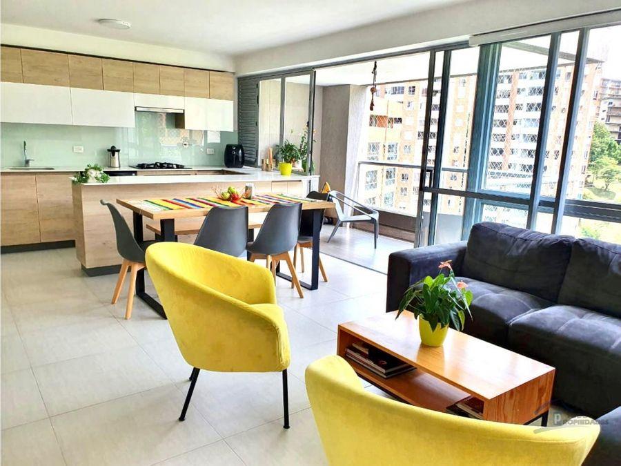 apartamento en venta barrio el poblado loma de san julian