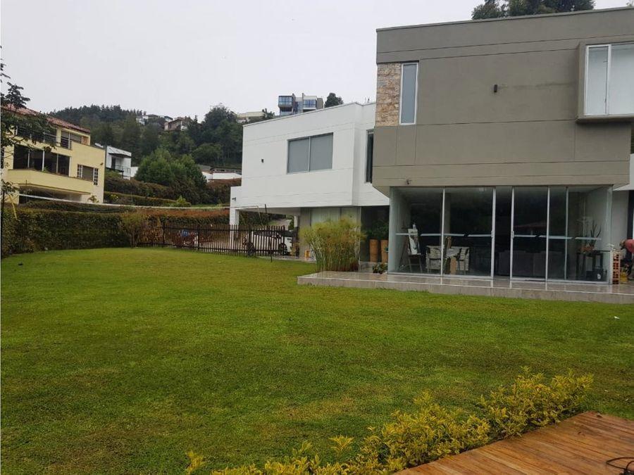 casa campestre en venta alto del escobero