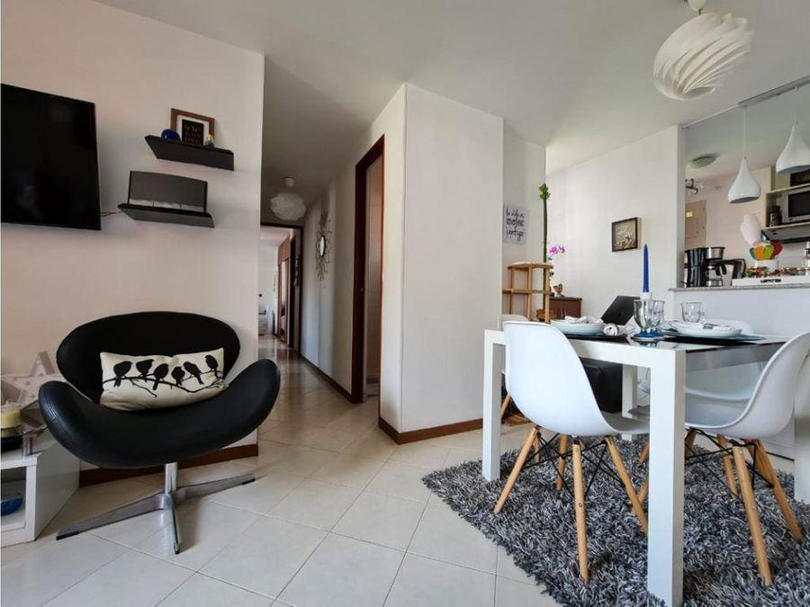 apartamento en venta loma de los bernal