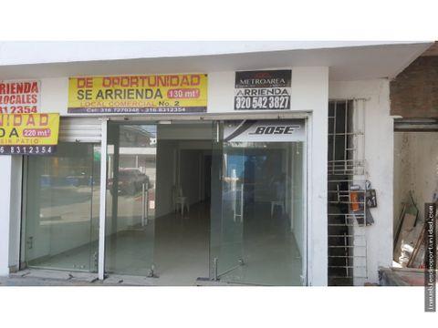 local oficina 130 mts2 sobre la calle 79