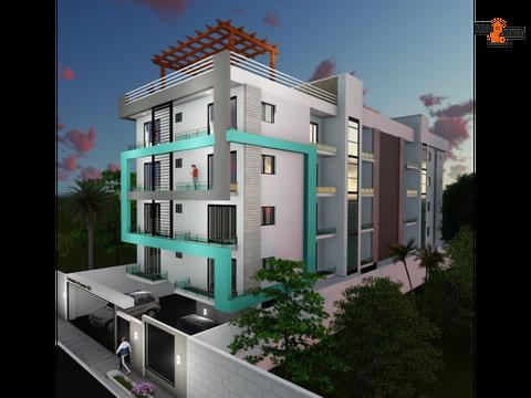 apartamentos 12 y 3hab ensanche ozama condominio del parque xiii