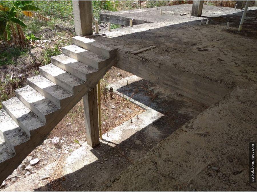 terreno con estructura en prebo ii