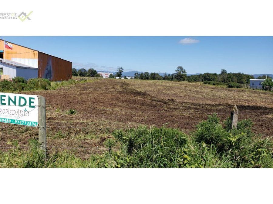 158734 venta parcela sitio agricola dalcahue