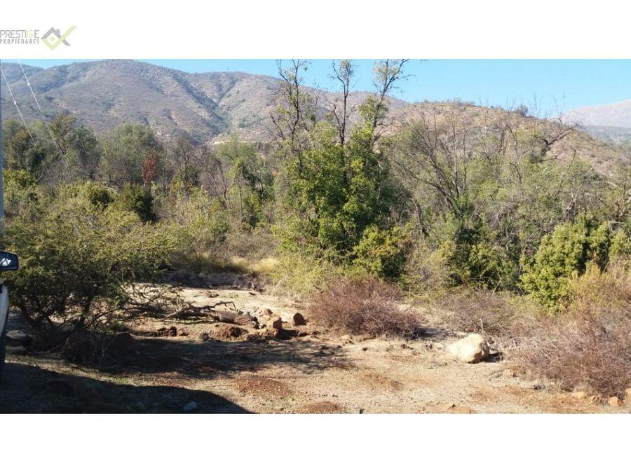 158865 venta parcela reserva ecologica olmue