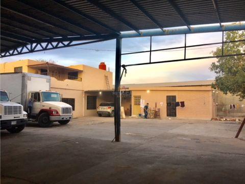 taller 757 m2 con casa col sahuaro hermosillo