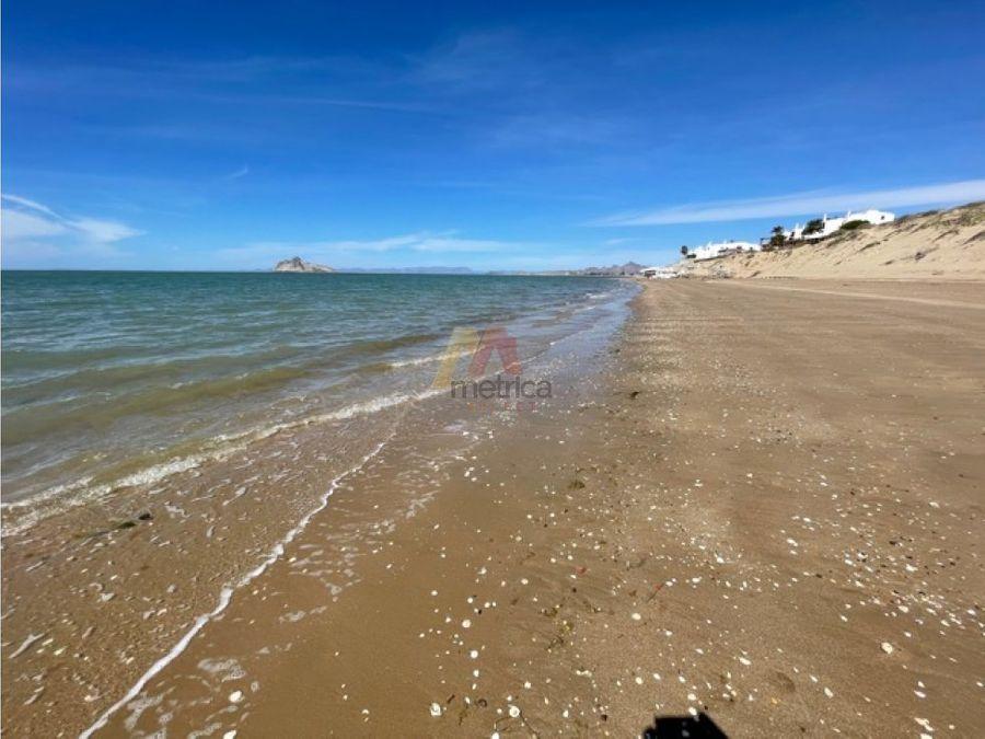 beach front lots lotes en la playa bahia de kino sonora