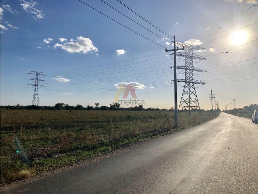 terreno 7 has por camino de seri en hermosillo